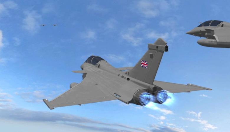 للمرة الثانية..مقاتلات بريطانية تعترض طائرات روسية فوق البلطيق
