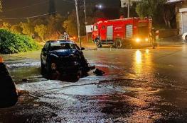 الدفاع المدني يتعامل مع 67 حادث اطفاء وتقديم مساعدة خلال المنخفض الحالي