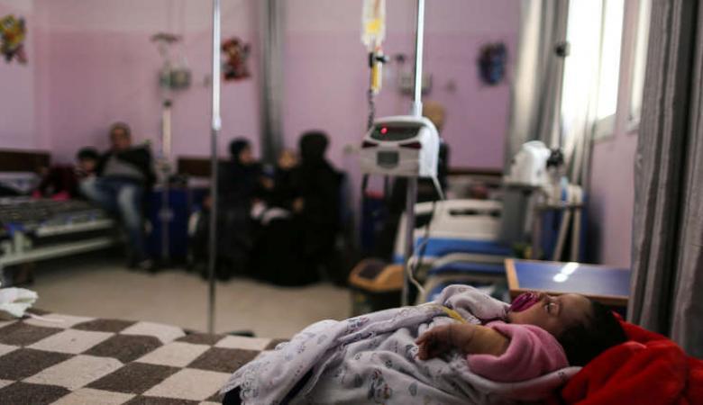"""غزة: من لم يمتْ بالرصاص الإسرائيلي.. قضى بفيروس """"H1N1"""""""