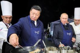 بوتين يقبل دعوة الرئيس الصيني الى الحزام الواحد و الطريق الواحد