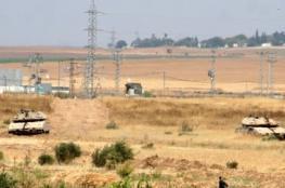 توغل عسكري وأعمال تجريف للاحتلال شرق مدينة غزة