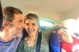 أسير محرر يقيم حفل زفافه بحضور نجله بعد 15 عاماً من اعتقاله