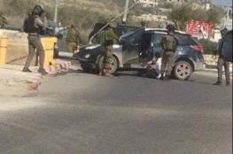 اطلاق النار على سائق فلسطيني جنوب نابلس