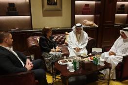 وزيرة الصحة تبحث مع نظيرها الاماراتي سبل دعم القطاع الصحي