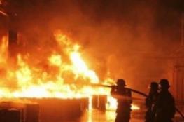وفاة مواطن  اثر حريق بمؤسسة للمعاقين في بيت جالا