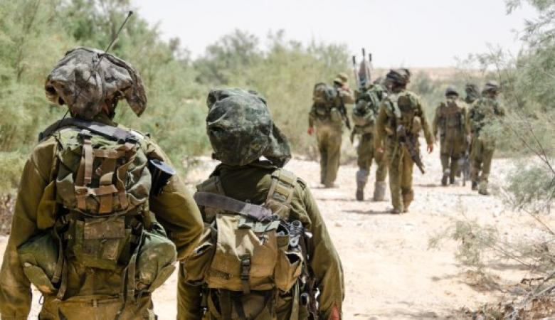 """الاحتلال ينشر قوات خاصة من جولاني وكتيبة """"الرمح """" في غلاف قطاع غزة"""