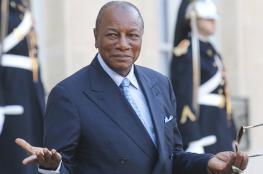 رئيس غينيا يؤكد مواقف بلاده الثابتة تجاه فلسطين
