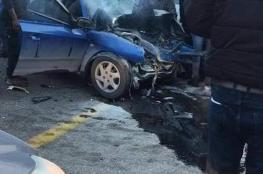 مصرع شاب واصابة خمسة آخرين بينها حرجة في حادث سير مروع شمال القدس