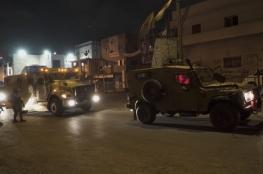 """عملية عسكرية شرق رام الله لملاحقة منفذي عملية """"عوفرا """""""