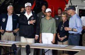 ترامب وزوجته ميلانيا يتفقدان فلوريدا بعد اعصار ايرما