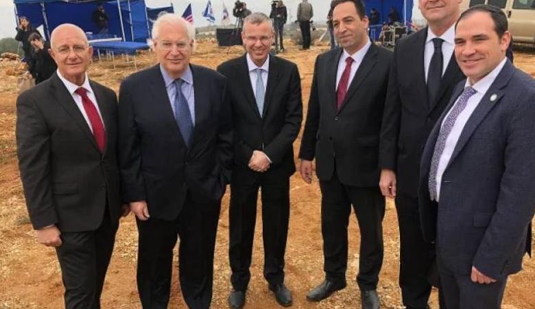 """الخارجية: اجتماع الطاقم الأميركي الإسرائيلي بمستوطنة اريئيل يفضح الجوهر الإستعماري لـ""""صفقة القرن"""""""