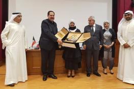 صيدم يصل الكويت ويلتقي المعلمين المبتعثين