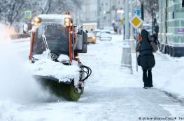 عواصف ثلجية غير مسبوقة تضرب اوروبا واجزاء من اميركا وروسيا
