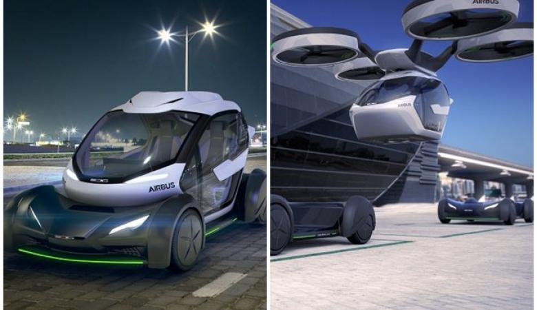 السيارة الطائرة..قدرات مذهلة ...شاهد