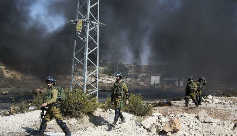اصابات بمواجهات في ثلاث نقاط مع الاحتلال في رام الله