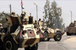 """الجيش المصري يعلن إحباط محاولة """"انتحارية"""" ضده ومقتل 11 مسلحا"""