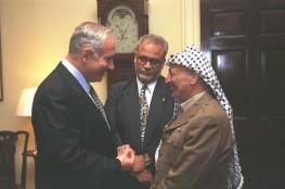 ليبرمان : نتنياهو  تواطأ مع عرفات والطيبي وحماس