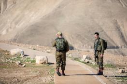 """""""اسرائيل """" تتهم اردنيين بتهريب رشاشات واسلحة"""