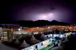 السعودية تحذر الحجاج : هطول الأمطارقد يؤدي إلى سيول جارفة