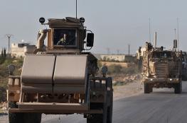 القوات الامريكية تدفع بتعزيزات عسكرية الى الحدود العراقية السورية