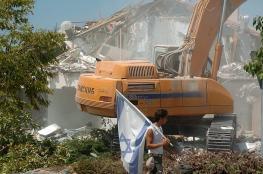 الضفة الغربية : الاحتلال هدم 617 مبنى وشرد 898 مواطنا عام 2019