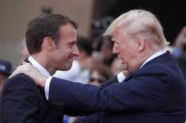 """ترامب يهدد الرئيس الفرنسي : """"سنرد عليك ايها الغبي """""""