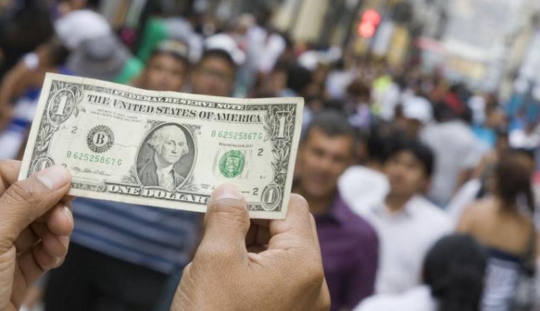 الدولار يتراجع مقابل الشيقل الاسرائيلي