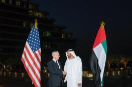 ولي عهد ابو ظبي  يلتقي بوزير الدفاع الامريكي ويتفقان على محاربة التطرف