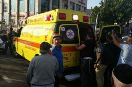 اصابة مستوطنة بجراح بعد تعرضها للطعن في القدس