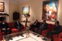 مباحثات بين وزير الخارجية الفلسطيني ونظيره الفنزويلي