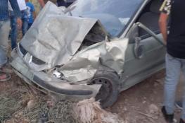 وفاة مواطنة وإصابة 8 آخرين في حادث سير غرب جنين