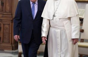 الرئيس عباس يصل ايطاليا ويلتقي بالرئيس الايطالي ورئيس الوزراء وبابا الفاتيكان