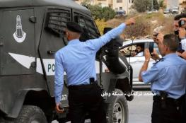 """الشرطة تمنع قوة """"اسرائيلية """" من اقتحام غرب رام الله"""