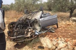 مصرع مواطن واصابة 186 آخرين في 217 حادث سير بالضفة