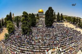 200 ألف مصلٍ أدوا الجمعة الثانية في المسجد الأقصى