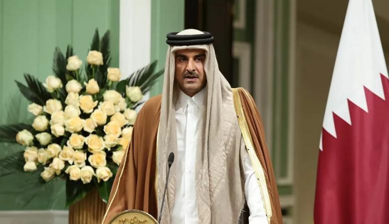 """""""مرصعة بالالماس والياقوت """"...قطر تقدم هدية ثمينة للسفير الايراني"""