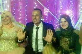 انها ليست مزحة ...مصرية تشارك زوجها حفل زفافه الثاني !