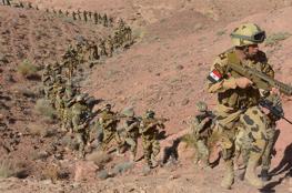 الجيش المصري يعلن انطلاق عملية عسكرية كبيرة ضد داعش في سيناء
