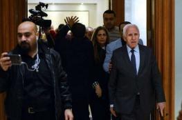 عزام الأحمد يتوجه الى سوريا على رأس وفد فلسطيني