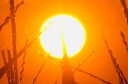 حالة الطقس : درجات الحرارة اعلى من معدلها السنوي بحدود 7 درجات