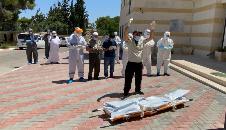 فلسطين : اربع وفيات بفيروس كورونا المستجد اليوم