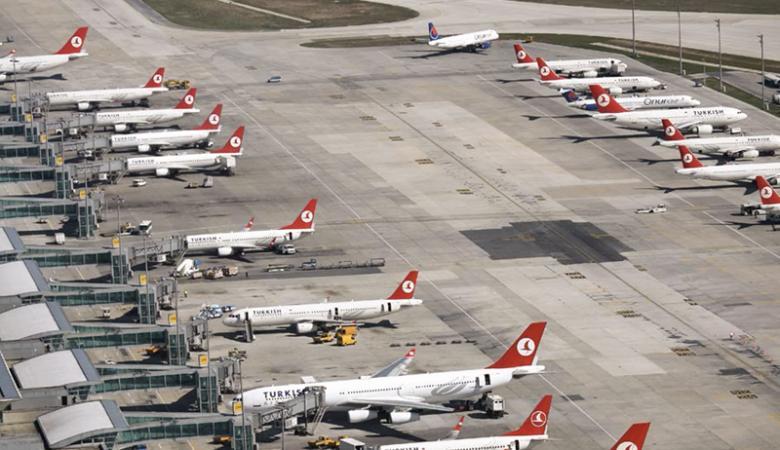 """اصطدام طائرة مغربية بتركية في مطار """"اتاتورك """" باسطنبول"""