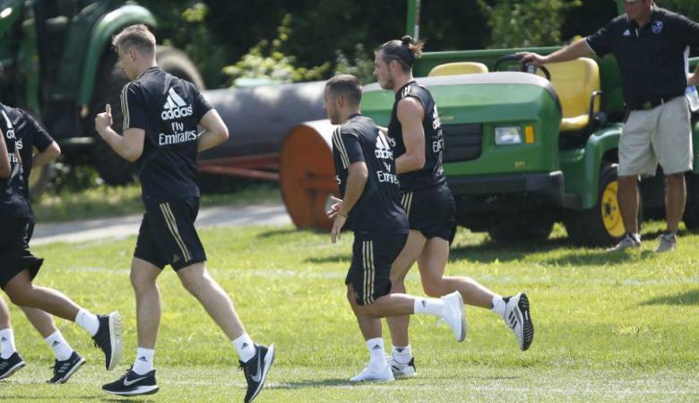 هازارد يحسم قراره بشأن رقم قميصه الجديد مع ريال مدريد