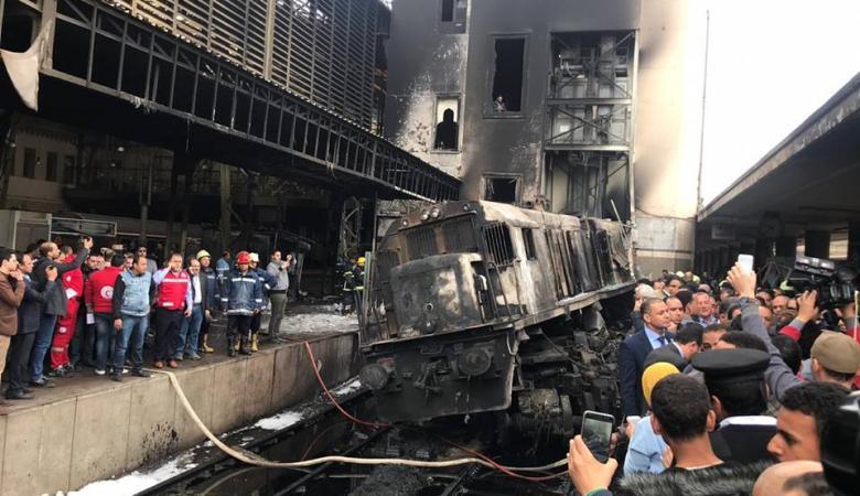 """سائق قطار """"محطة مصر"""" يروي تفاصيل الحادث الذي أودى بحياة 20 شخصا (فيديو)"""