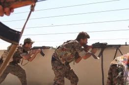 مقتل 34 جندياً من الجيش السوري بهجوم لداعش بالرقة