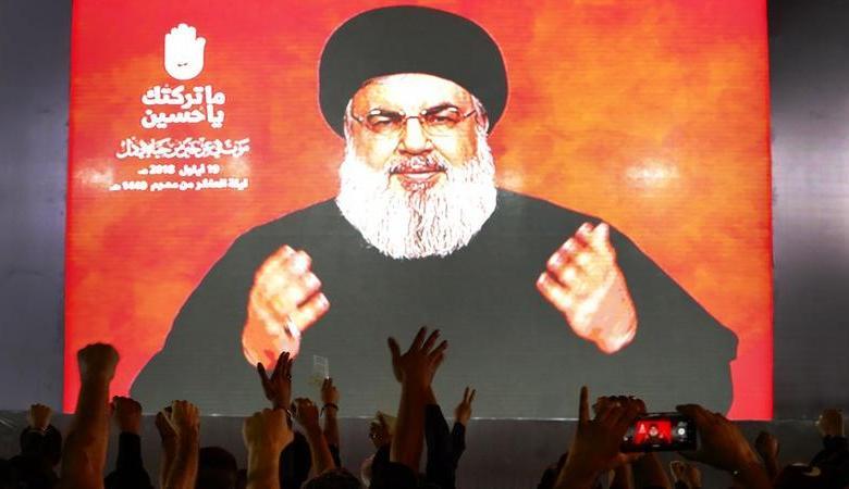 """نصر الله يشبه خامنئي بالامام الحسين ويؤكد أن المعركة مع """"يزيد"""" تتجدد"""