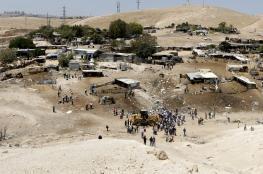 """8 دول اوروبية كبرى تدعو اسرائيل الى التراجع عن هدم """"الخان الاحمر """""""