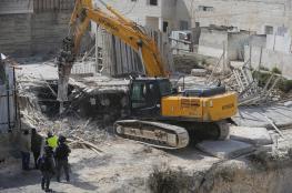 """عساف يحذر من قيام """"اسرائيل """" بهدم قرى كاملة في الضفة الغربية"""