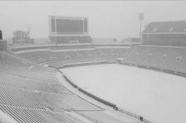 لأول مرة... الثلوج تغطي ملعب نهائي الدوري في السعودية