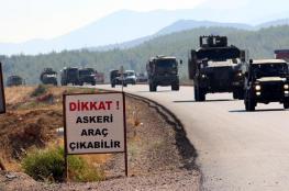 الجيش التركي يدفع بتعزيزات جديدة إلى الحدود السورية